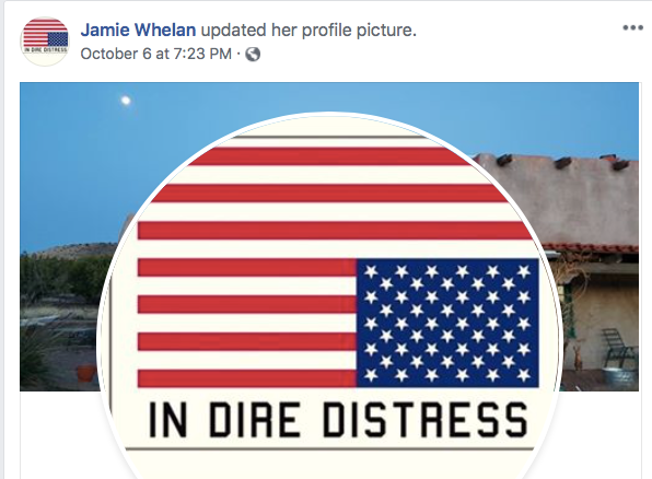 Whelan_Upsidedown_Flag